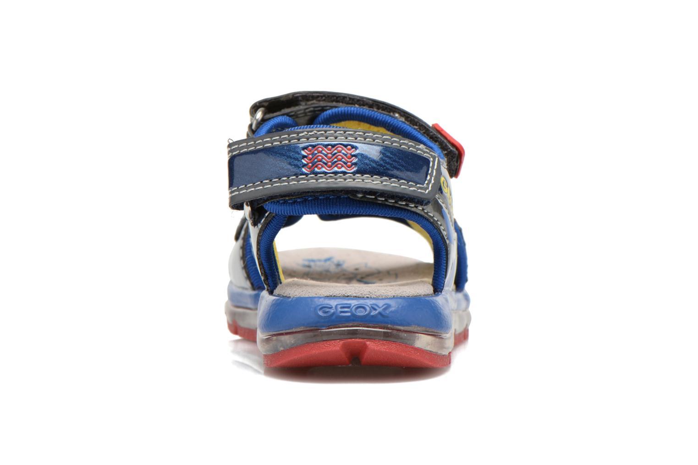 Sandales et nu-pieds Geox B Sand.Todo B. A B620GA Bleu vue droite