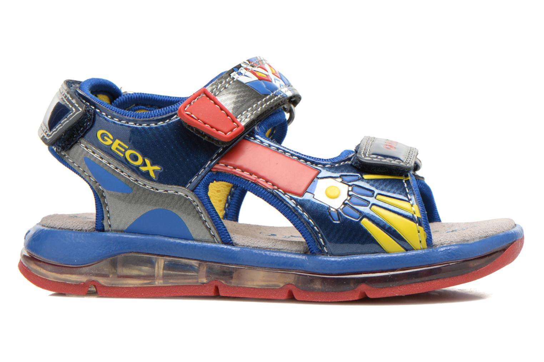 Sandali e scarpe aperte Geox B Sand.Todo B. A B620GA Azzurro immagine posteriore