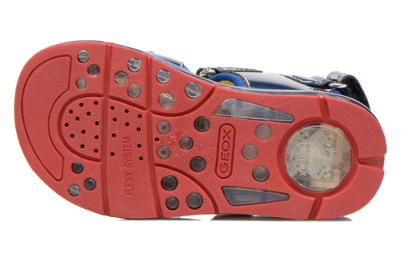 Sandali e scarpe aperte Geox B Sand.Todo B. A B620GA Azzurro immagine dall'alto