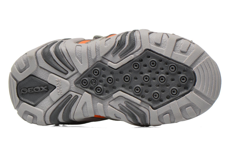 Sandales et nu-pieds Geox B Sandal Kraze B B6224B Gris vue haut