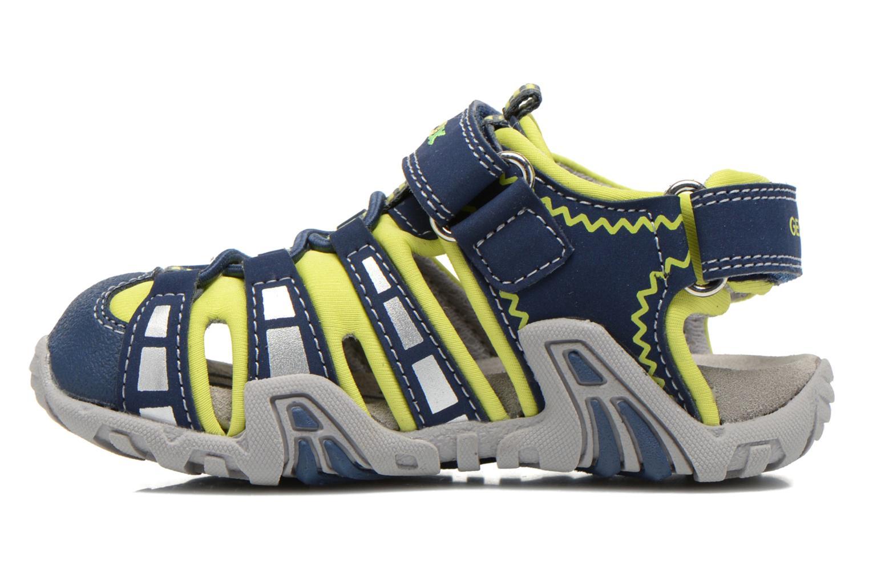 Sandali e scarpe aperte Geox B Sandal Kraze B B6224B Azzurro immagine frontale