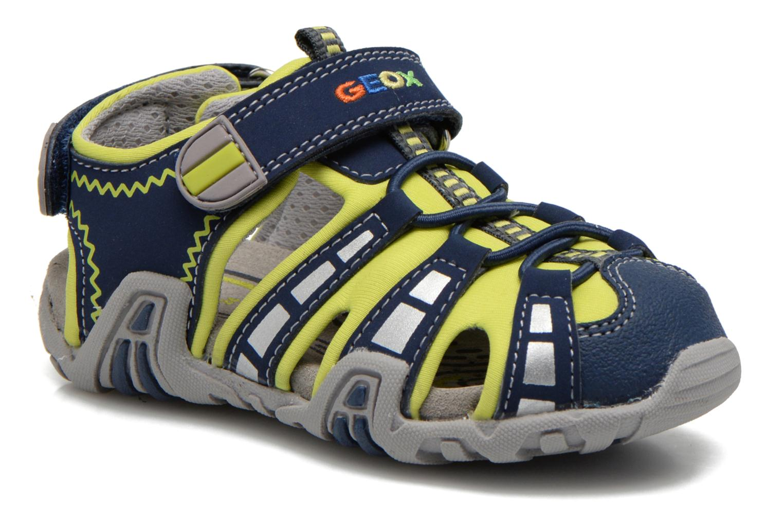 Sandalen Geox B Sandal Kraze B B6224B Blauw detail