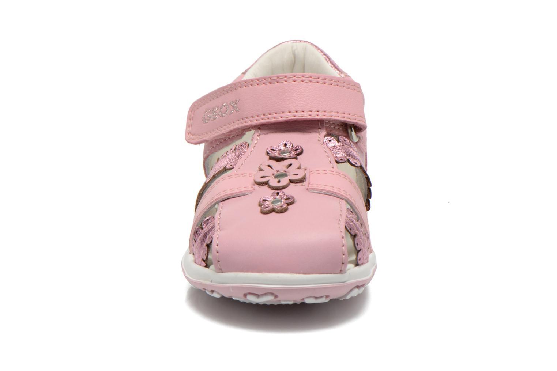 Sandales et nu-pieds Geox B Bubble C B62E6C Rose vue portées chaussures