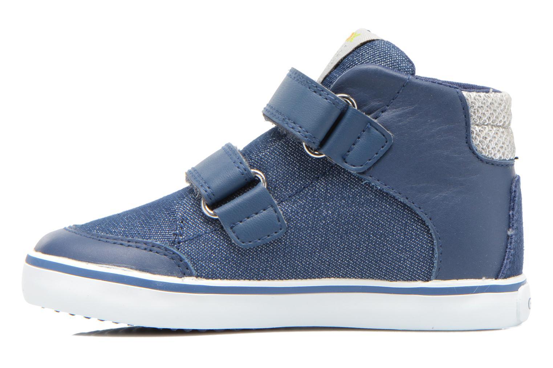 Sneakers Geox B Kiwi G. A B62D5A Blå bild från framsidan