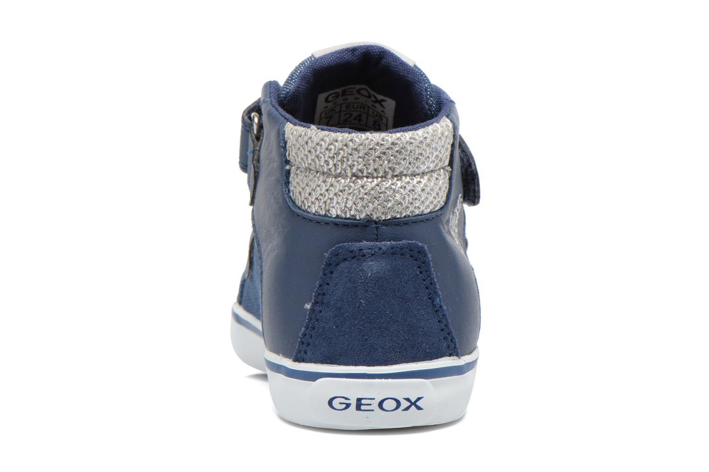Sneakers Geox B Kiwi G. A B62D5A Blå Bild från höger sidan