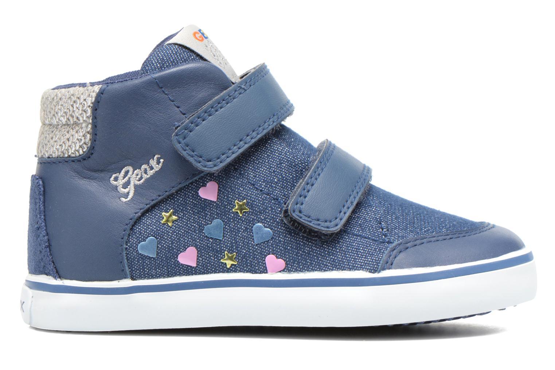 Sneakers Geox B Kiwi G. A B62D5A Blå bild från baksidan