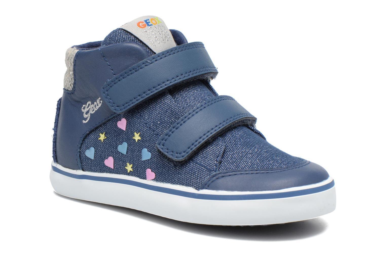 Sneakers Geox B Kiwi G. A B62D5A Blå detaljerad bild på paret