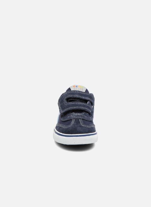 Sneakers Geox B Kiwi B. E B62A7E Blå se skoene på