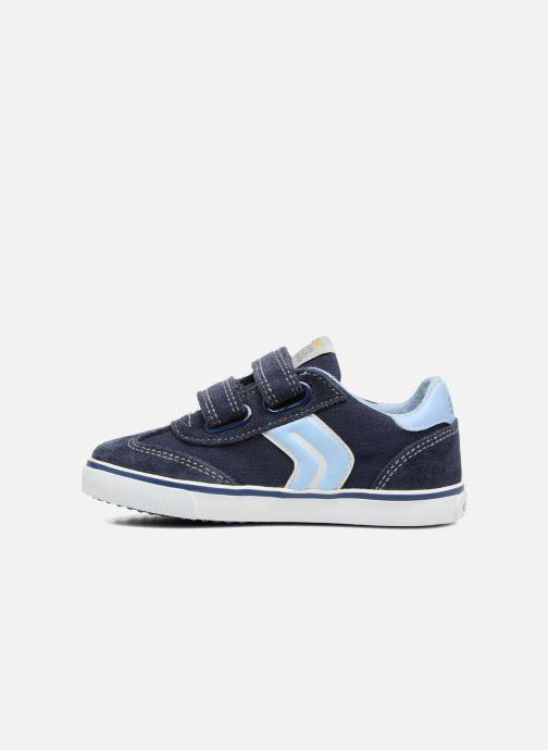 Sneakers Geox B Kiwi B. E B62A7E Blå se forfra