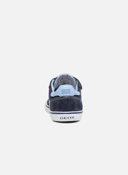 Sneakers Geox B Kiwi B. E B62A7E Blå Se fra højre