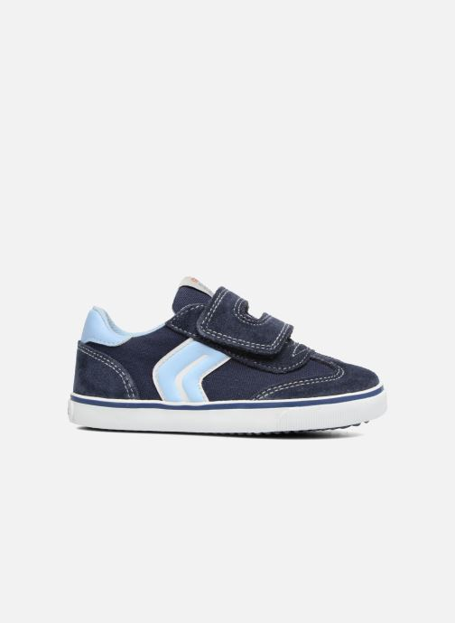 Sneakers Geox B Kiwi B. E B62A7E Blå se bagfra