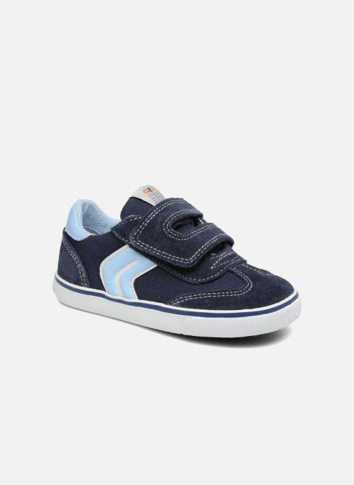 Sneakers Geox B Kiwi B. E B62A7E Blå detaljeret billede af skoene