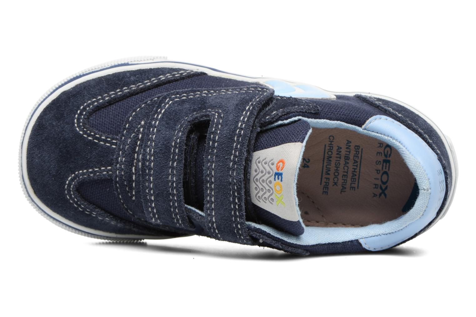 Trainers Geox B Kiwi B. E B62A7E Blue view from the left