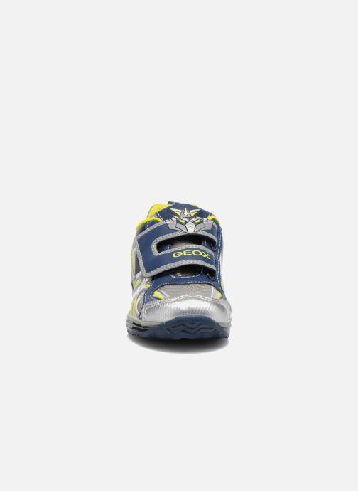 Sneaker Geox B TODO B. A B6284A grau schuhe getragen