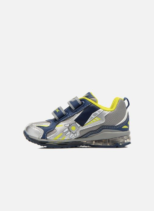 Sneaker Geox B TODO B. A B6284A grau ansicht von vorne