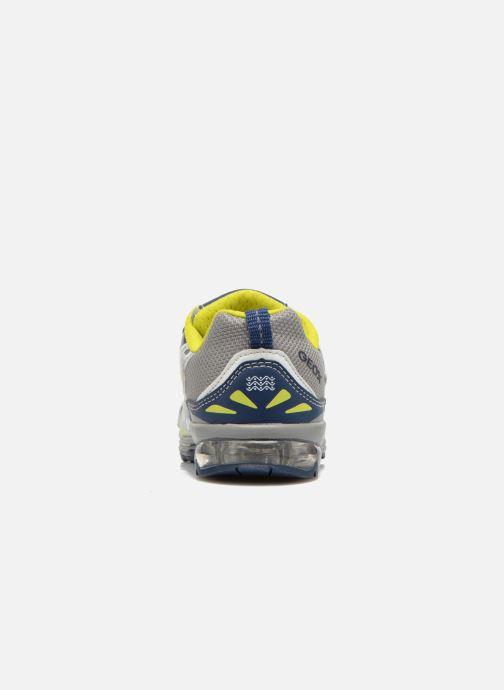 Sneaker Geox B TODO B. A B6284A grau ansicht von rechts