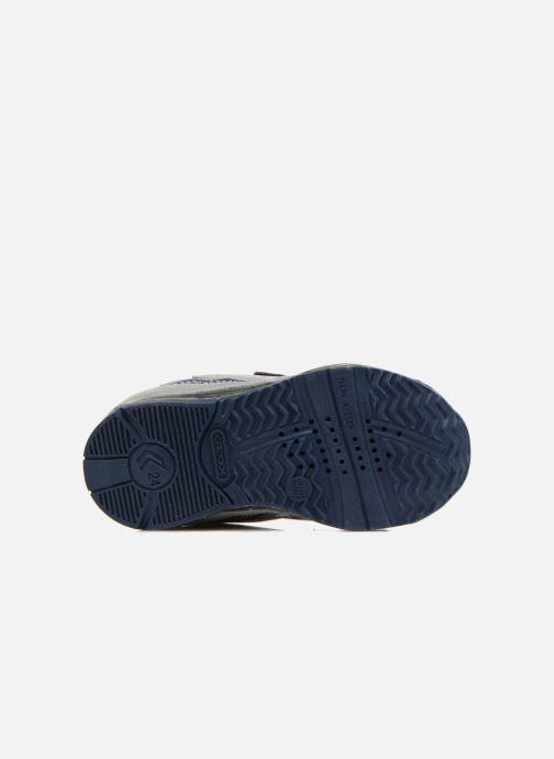 Sneaker Geox B TODO B. A B6284A grau ansicht von oben