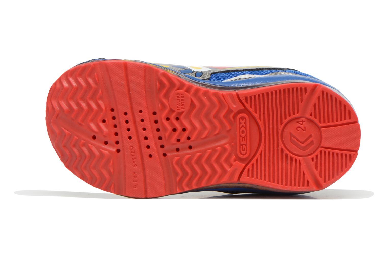 Baskets Geox B TODO B. A B6284A Multicolore vue haut