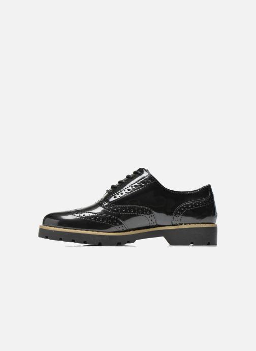 Schnürschuhe I Love Shoes THINA Size + schwarz ansicht von vorne