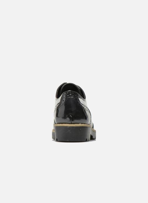 Schnürschuhe I Love Shoes THINA Size + schwarz ansicht von rechts