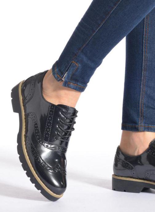 Chaussures à lacets I Love Shoes THINA Size + Bleu vue bas / vue portée sac