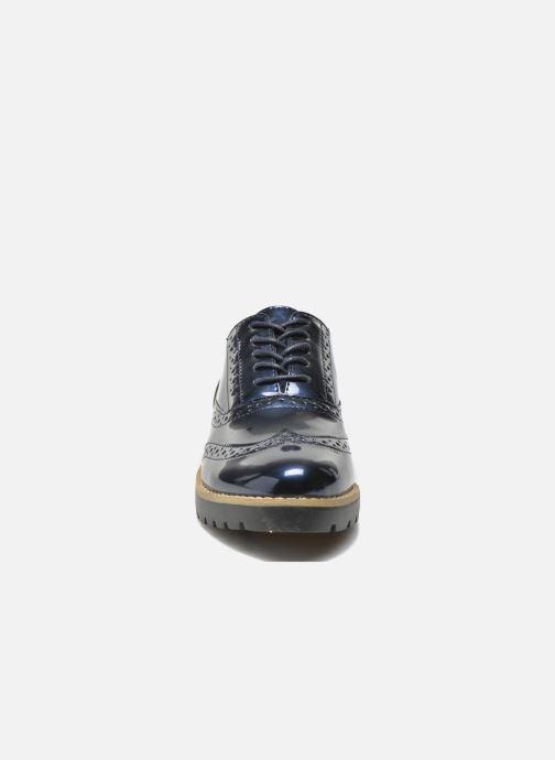 Scarpe con lacci I Love Shoes THINA Size + Azzurro modello indossato