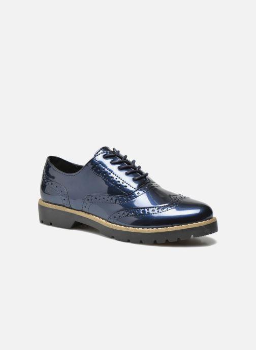 Chaussures à lacets I Love Shoes THINA Size + Bleu vue détail/paire