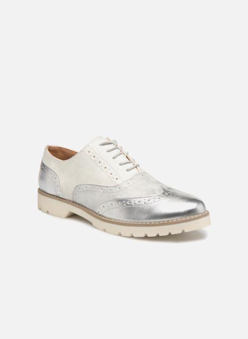 Chaussures à lacets I Love Shoes THINA Size + Argent vue détail/paire