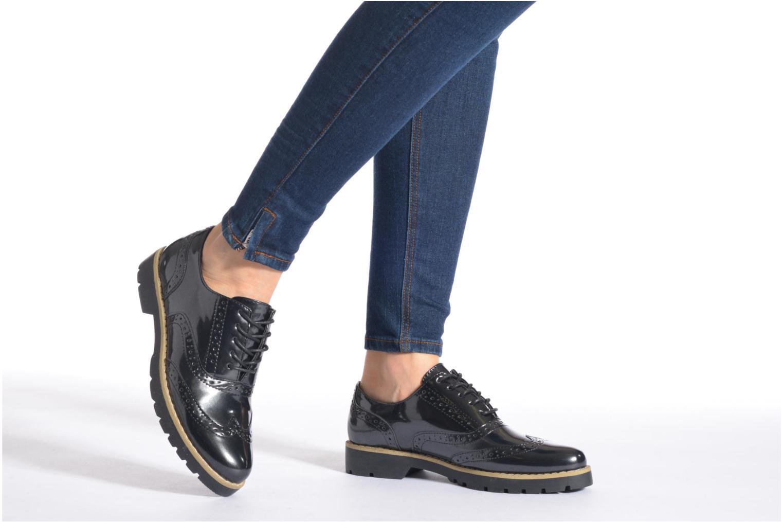 Chaussures à lacets I Love Shoes THINA Size + Noir vue bas / vue portée sac
