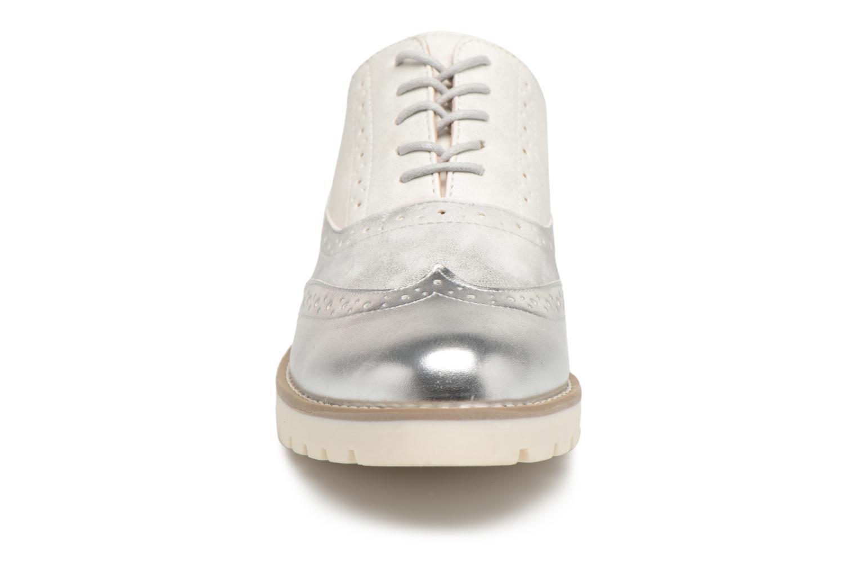 Chaussures à lacets I Love Shoes THINA Size + Argent vue portées chaussures