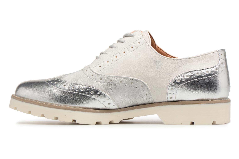 Chaussures à lacets I Love Shoes THINA Size + Argent vue face