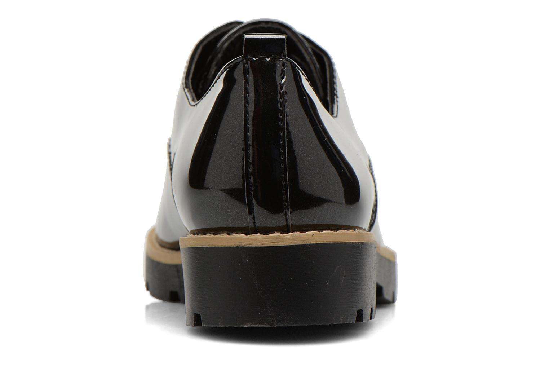 Snøresko I Love Shoes THALY Sort Se fra højre
