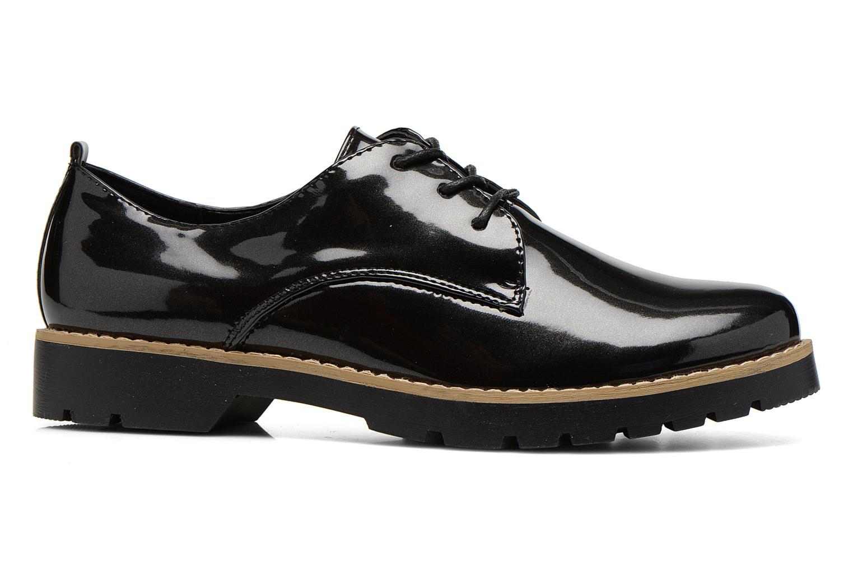 Snøresko I Love Shoes THALY Sort se bagfra