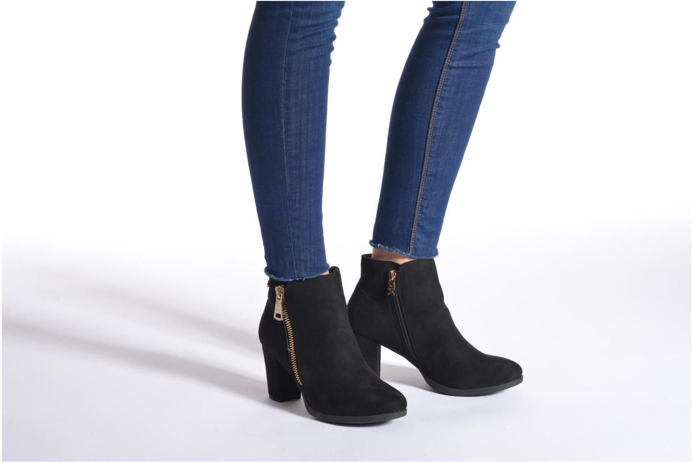 Bottines et boots Xti Saona Noir vue bas / vue portée sac