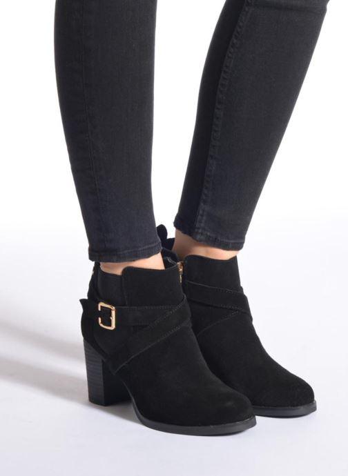 Bottines et boots Xti Bacardo Noir vue bas / vue portée sac