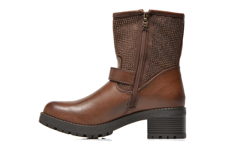 Bottines et boots Xti Livadi Marron vue face
