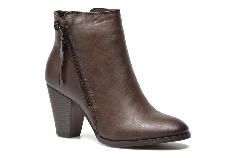 Bottines et boots Xti Maho Marron vue détail/paire