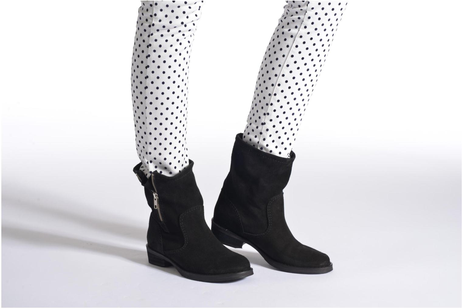 Ankle boots Jonak Ophelai Black view from underneath / model view
