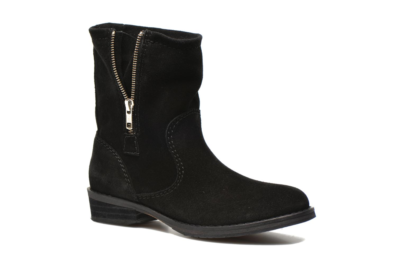 Ankle boots Jonak Ophelai Black detailed view/ Pair view