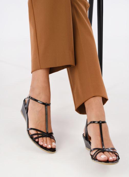 Sandales et nu-pieds Jonak ROZIE 7536 Noir vue bas / vue portée sac