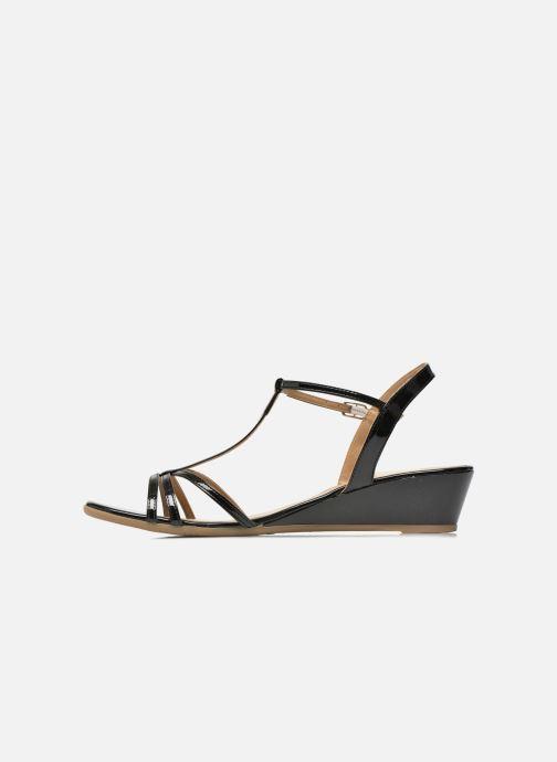 Sandales et nu-pieds Jonak ROZIE 7536 Noir vue face