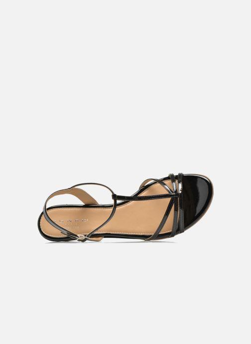 Sandales et nu-pieds Jonak ROZIE 7536 Noir vue gauche