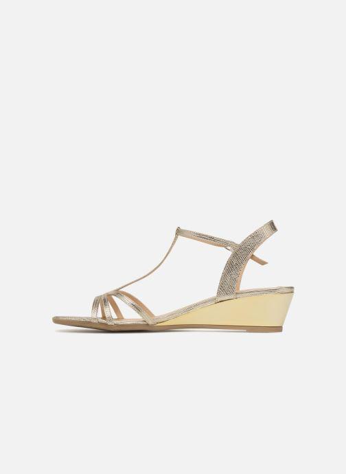 Sandales et nu-pieds Jonak ROZIE 7536 Or et bronze vue face