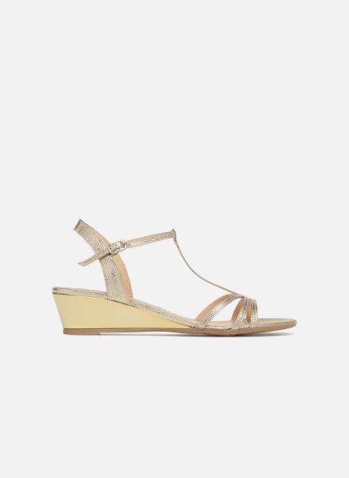 Sandales et nu-pieds Jonak ROZIE 7536 Or et bronze vue derrière