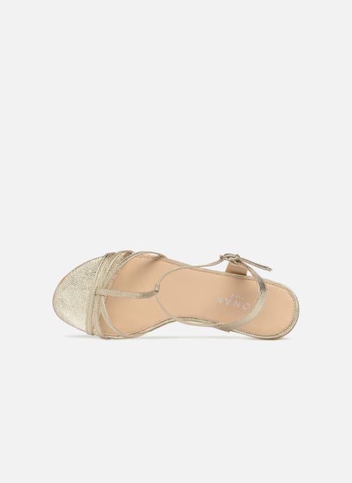 Sandali e scarpe aperte Jonak ROZIE 7536 Oro e bronzo immagine sinistra