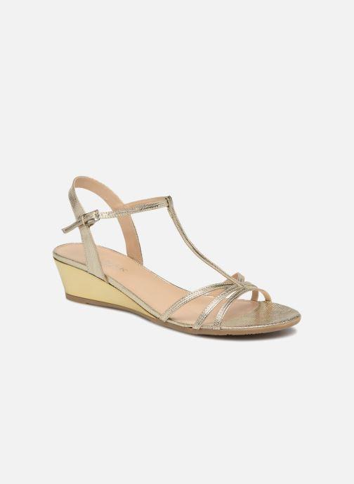Sandales et nu-pieds Jonak ROZIE 7536 Or et bronze vue détail/paire