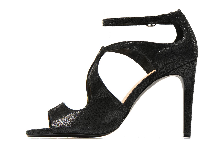 Sandales et nu-pieds Jonak Lysa Noir vue face