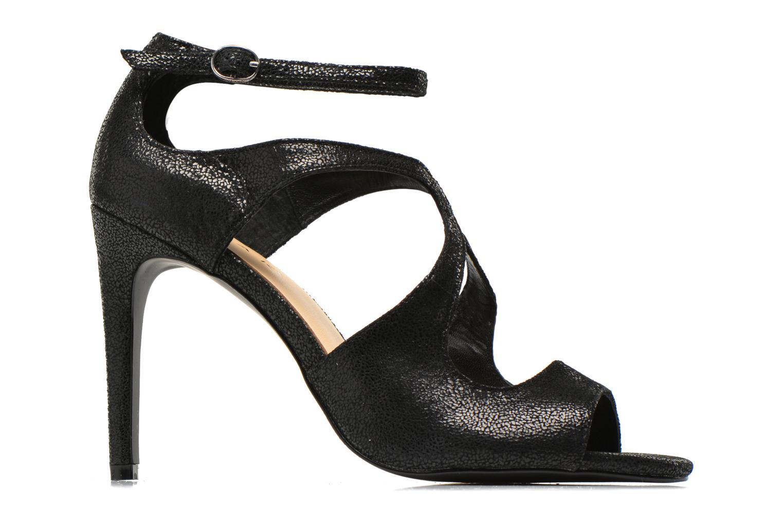 Sandales et nu-pieds Jonak Lysa Noir vue derrière