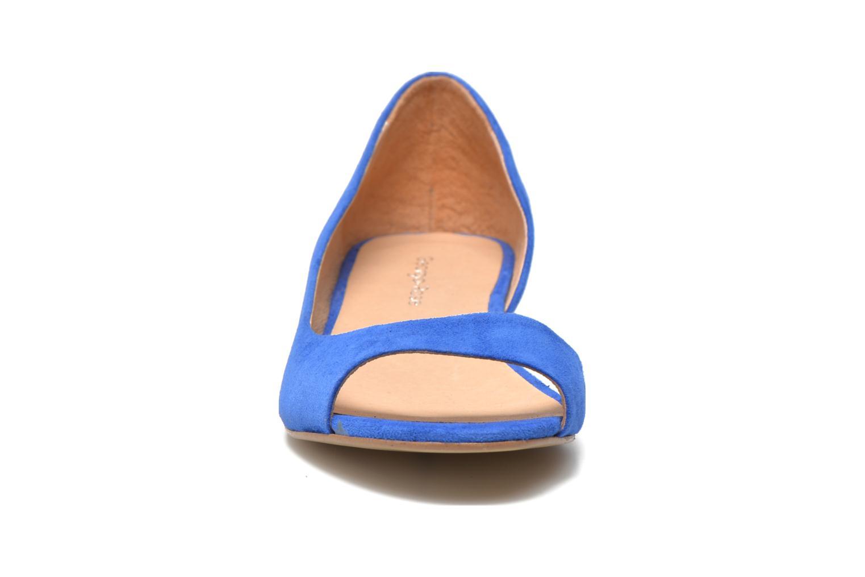 Ballerines Georgia Rose Emoto Bleu vue portées chaussures