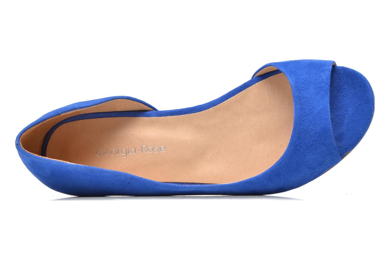 Ballerines Georgia Rose Emoto Bleu vue gauche